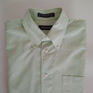 Nautica dress shirt long sleeve